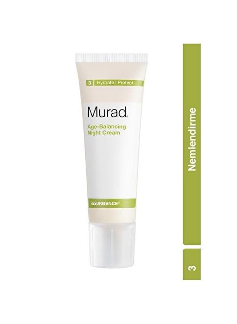 Murad Age-Balancing Night Cream - Anti Aging Etkili Gece Bakım Kremi 50 ml Renksiz